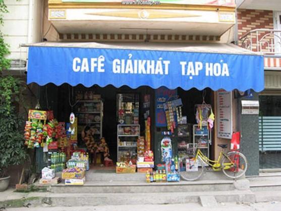 mặt tiền cửa hàng
