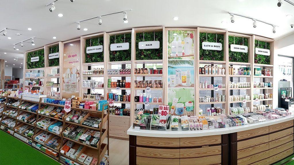 cửa hàng mỹ phẩm