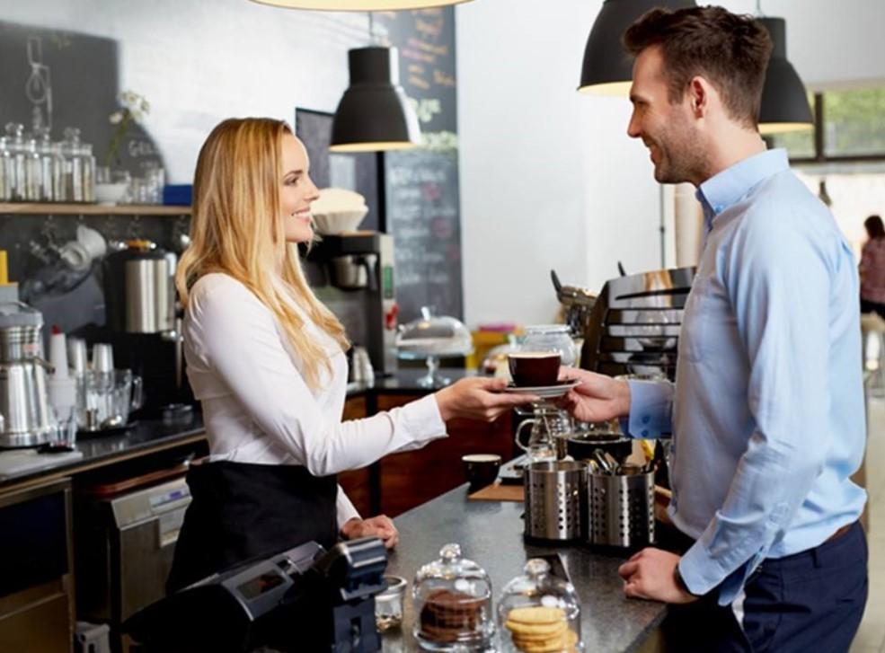 nhân viên cafe