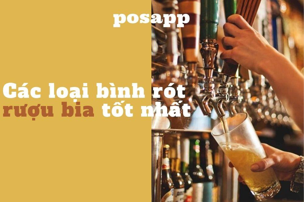 các loại bình rót rượu bia