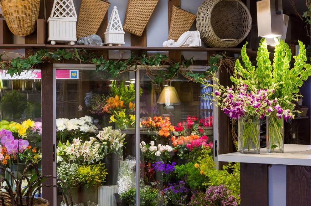 thiết kế kinh doanh hoa tươi