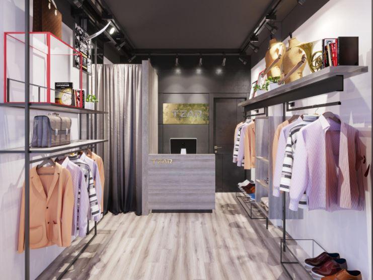 Thiết kế và trang trí nội thất shop quần áo