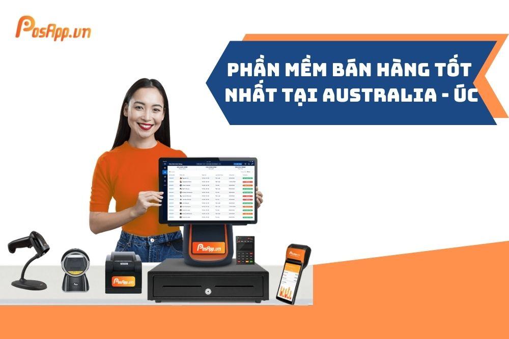 Phần mềm bán hàng tại Australia